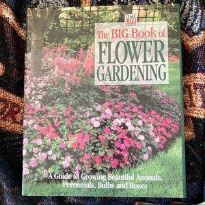 """The Big Book of Flower Gardening"" Hardcover Book"